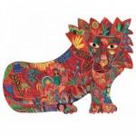 Djeco-07654 Puzz'Art - Lion