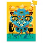 Djeco-07673 Mini Puzzle - The Monster