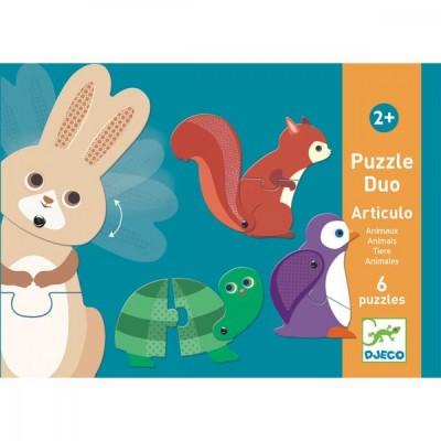 Djeco-08175 6 Puzzles - Suo - Articulo