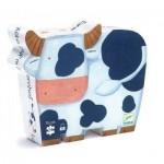Djeco-DJ-07205 Boîte Silhouette - Les Vaches à la Ferme