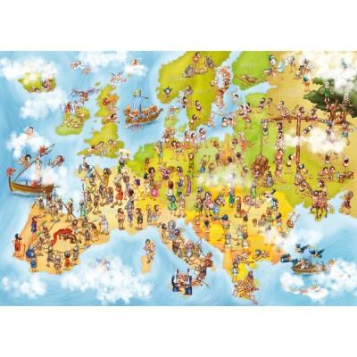 Deico-Games-76120 Cartoon Collection - Carte de l'Europe