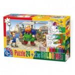 Dtoys-50380-PC-05 Color Me : Pinocchio + 2 dessins à colorier