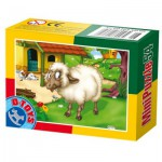 Dtoys-60464-AD-07 Mini Puzzle : Mouton