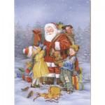Dtoys-60709-XM-08 Le Père Noël et les enfants