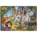 Dtoys-61454-AN-03 Color Me : La fête des animaux de la jungle