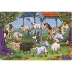 Dtoys-61454-AN-04 Color Me : La ronde des animaux de la ferme