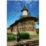 DToys-63038-MN03 Roumanie : Monastère Sucevita