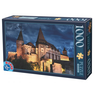 Dtoys-63038-MN13 Château de Hunedoara by Night, Château des Corvin by Night - Roumanie