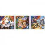 Dtoys-63717-BA-02 Contes et Légendes : Pinocchio, Hansel et Gretel, le Chat Botté