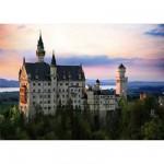 DToys-64301-NL07 Paysages nocturnes - Allemagne : Château de Neuschwanstein
