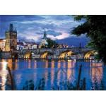 DToys-64301-NL09 Paysages nocturnes - République tchèque : Prague