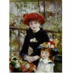 DToys-66909-RE01 Renoir Auguste - Sur la terrasse