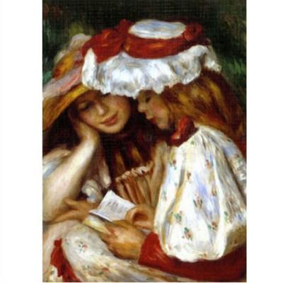 Dtoys-66909-RE02-(70289) Renoir Auguste - Deux jeunes filles lisant