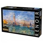 DToys-66909-RE08-(74911) Pierre-Auguste Renoir: Le Palais des Doges, Venise