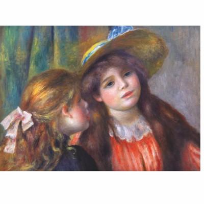 DToys-66909-RE08X Renoir Auguste - Portrait de deux fillettes