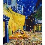 DToys-66916-VG09-(70180) Van Gogh Vincent - Arles, Terrasse du café le soir, Place du Forum