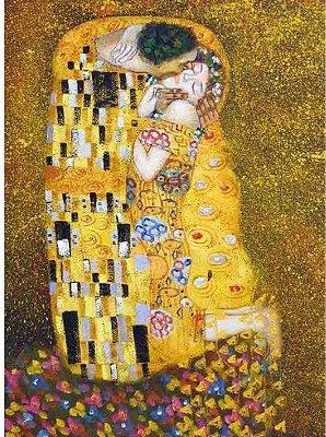 Dtoys-66923 Klimt Gustav - Le baiser (détail)