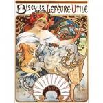 DToys-66930-MU04 Mucha Alphonse - Biscuits Lefèvre-Utile