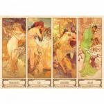 DToys-66930-MU09 Mucha Alphonse - Les 4 saisons