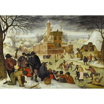 DToys-66947-BR04-(70005) Brueghel Pieter le jeune - Hiver
