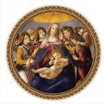 Dtoys-66985 Botticelli Sandro : Madonna della Melagra