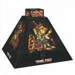 DToys-66992 Pyramide 3D - Art précolombien / Puzzle difficile