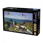 Dtoys-67548-CM07-(74577) Claude Monet - Terrasse à Sainte-Adresse, 1867