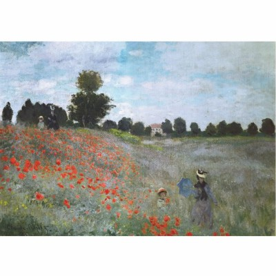 Dtoys-67548 Monet Claude - Les coquelicots
