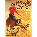 DToys-67555-VP02 Poster vintage - Motocycles Comiot, Paris