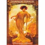 DToys-67555-VP06 Poster vintage - Champagne Pommery et Greno