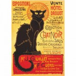 DToys-67555-VP09 Poster vintage - Collection du Chat Noir