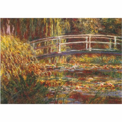 DToys-69658 Monet Claude - Le pont japonais