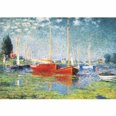 DToys-69665 Monet Claude - Argenteuil