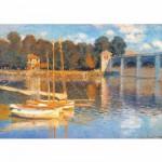DToys-69672 Monet Claude - Le pont d'Argenteuil