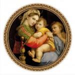 Dtoys-69771 Raphael, Raffaello Sanzio : Madonna della Seggiola