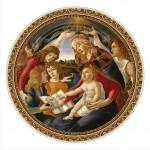 Dtoys-69788 Botticelli Sandro : Madonna del Magnifica