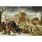 Dtoys-70005 Brueghel Pieter le jeune - Hiver