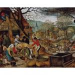 DToys-70012 Brueghel Pieter le jeune - Automne