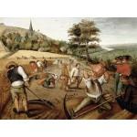 DToys-70029 Brueghel Pieter le jeune - Eté