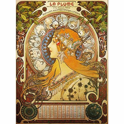 Dtoys-70111 Mucha Alphonse - Zodiaque