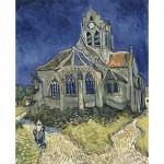 DToys-70173 Van Gogh Vincent - L'Église d'Auvers-sur-Oise