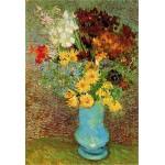 DToys-70258 Van Gogh Vincent - Fleurs dans un vase bleu
