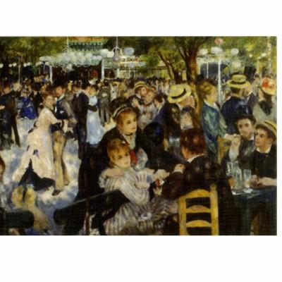 DToys-70302 Renoir Auguste : Le bal du Moulin de la Galette