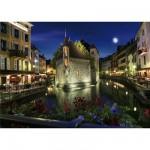 DToys-70531 Paysages nocturnes - France : Annecy