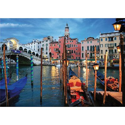 DToys-70555 Paysages nocturnes - Italie : Venise