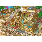 DToys-70890 Cartoon Collection - Pyramide d'Egypte