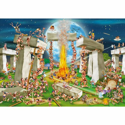 DToys-70906 Cartoon Collection - Stonehenge