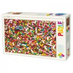 Dtoys-71958-HD02-(74607) Puzzle Difficile : Bonbons