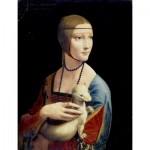 Dtoys-72689-DA02-(74973) Léonard De Vinci : La Dame à l'Hermine