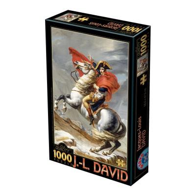 Dtoys-72719 David Jacques-Louis : Napoléon Bonaparte franchissant les Alpes